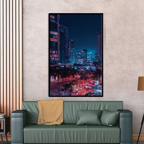 Manila Philippines City 3d Single Portrait Wall Frame AJ-010 | Framerstore.com