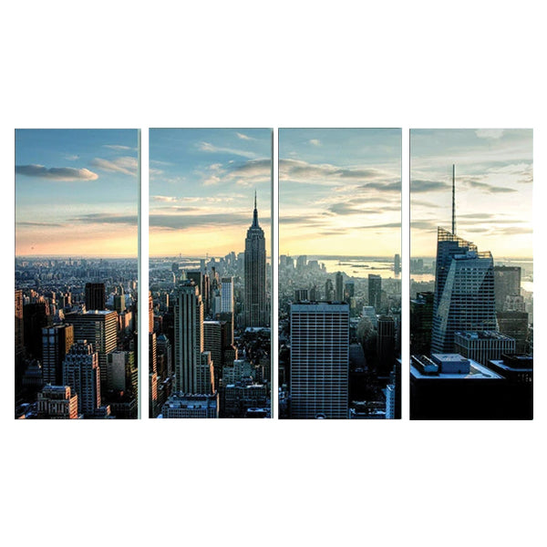 New York City 4 Pcs 3d Small Wall Frame AJ-012 | Framerstore.com
