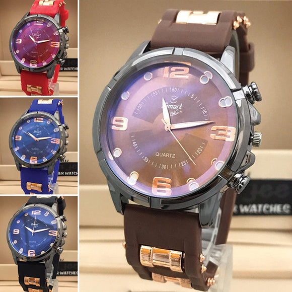 New Fashion Silicon Casual Watch for Men 117500