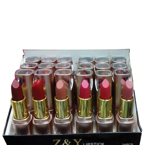 Z&Y Lipstick 24Pcs Set Multicolors