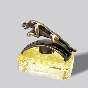 Car Dashboard Perfume - Air Freshner (Leopard) Lemon Yellow | 24HOURS.PK