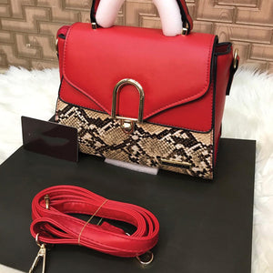 Stylish Cross Body Bag For Her Red