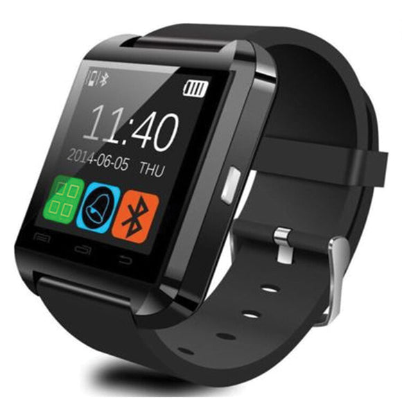 BLUETOOTH U8 SMART WATCH FOR IOS IPHONE | 24hours.pk