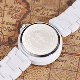 White Ceramic Watch Mens Womens 2016 Quartz Watches Wrist Bracelet Boys Girls Fashion Casual Watch Clock | 24hours.pk