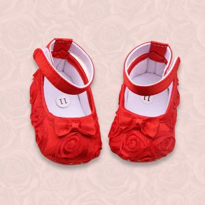 Steperz Red Frill Prewalker (With Socks)
