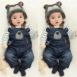 Dungaree (Denim) Boys/Girls (2 Shades of Blue)