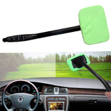 Pack of 2 Car Window Cleaning Windshield  And Car Tissue Sun visor Holder  Leather  Black | 24HOURS.PK