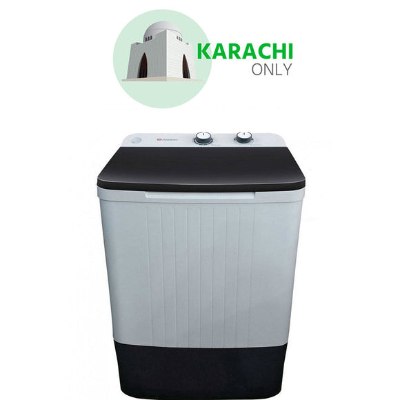 DAW 9 KG WASHER 9100 CLEAR LID.(0NLY FOR KARACHI)