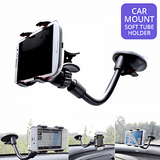 Long Arm Universal Car Mount Soft Tube Holder For Smartphones & GPS | 24hours.pk