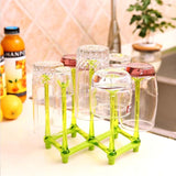 Baby Feeding Bottle Rack Drying Nipple Stand Cup Storage Folding Drainer Dryer | 24hours.pk