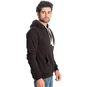 Black Fleece Hoodie For Men Purchasing | 24HOURS.PK
