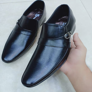 Office Shoes For Mens Black Simple Design | 24HOURS.PK