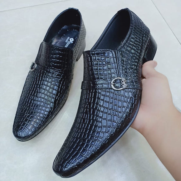 Latest Design Offfice Shoes For Mens Black | 24hours.pk