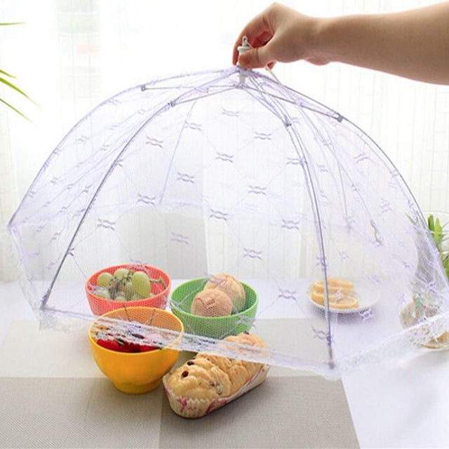 Kitchen Food Umbrella Cover Picnic Barbecue BBQ Party Fly Mosquito Mesh Net | 24HOURS.PK