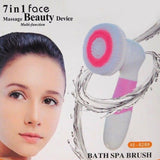 Bath Spa New Face Waterproof 7in1 Cordless Cleansing Brush AE- 8288 | 24HOURS.PK