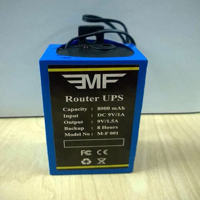 EMF ROUTER UPS POWER BACKUP FOR WIFI ROUTERS | 24hours.pk