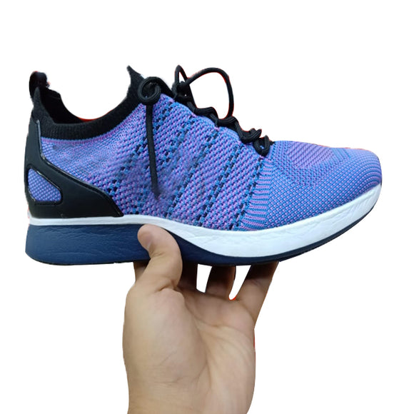 Sports Shoes For Men Purple and White | 24HOURS.PK