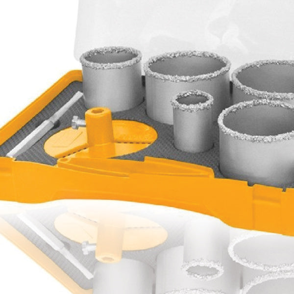 7pcs Carbide Gritted Hole Saw Set AKCH0071 | 24hours.pk