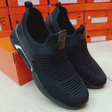 Black Simple Lines Design Sneakers For Mens | 24HOURS.PK