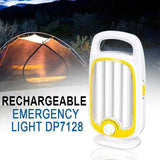 DP LED 2 Way Rechargeable Emergency Light, DP7128 | 24hours.pk