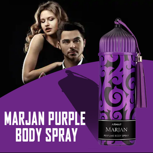 Armaf Marjan Purple Perfume Body Spray 200ml | 24hours.pk