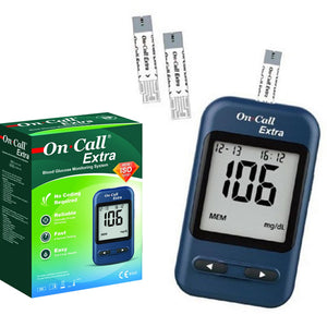 On Call Extra - Blood Glucose Monitoring System | 24HOURS.PK