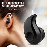 Spark S530 Mini Bluetooth Headset With Mic, Black | 24HOURS.PK