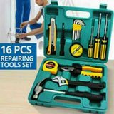 16Pcs Professional Electrician Tools Kit Home Repair Tool Set (033) | 24HOURS.PK