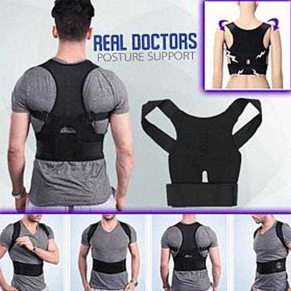 Real Doctors Posture Support Brace | 24hours.pk