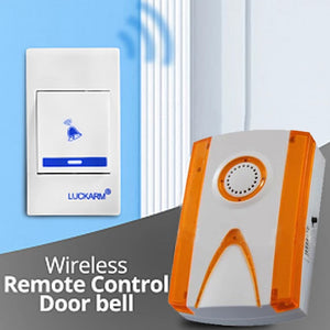 Luckaram Intelligent Wireless Remote Control Door bell | 24hours.pk