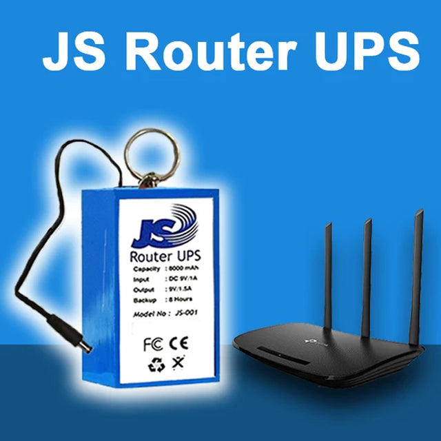 Router UPS 9V For Wifi Router | 24hours.pk