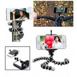 OT Mini Tripod with Flexible Octopus Legs & Adjustable Phone Mount Adopter | 24HOURS.PK