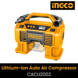 Lithium-Ion Auto Air Compressor Include Battery CACLI2002 | 24hours.pk