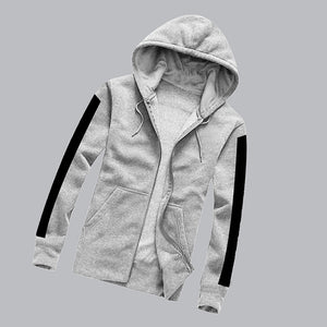 New Simple Style Hoddie For Mens Grey | 24hours.pk