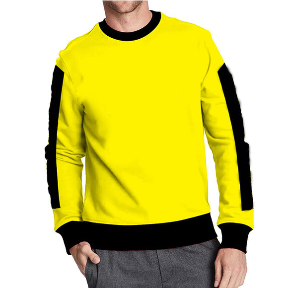 Full Seleve T-Shirts For Mens Yellow | 24HOURS.PK