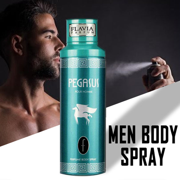 Flavia Pegasus Deodorant Spray For Men, 200 ml | 24hours.pk