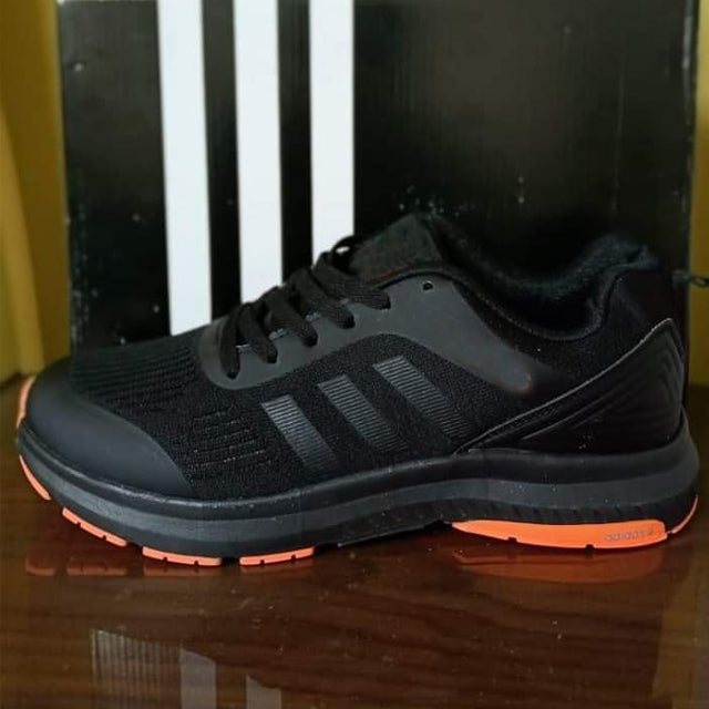 Latest Men Shoes Black and Orange | 24HOURS.PK