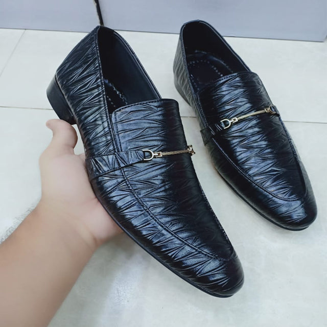 Vintage Design Office Shoes For Mens Black | 24HOURS.PK