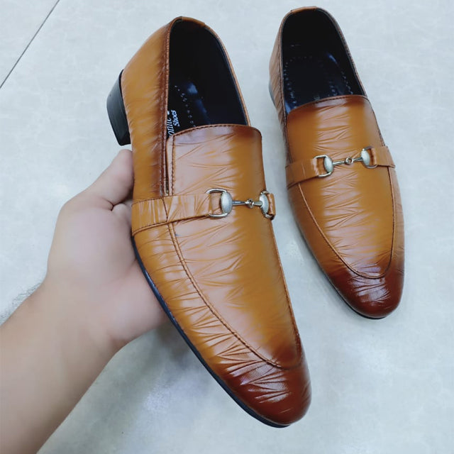 Line Style Shoes For Mens Brown | 24HOURS.PK
