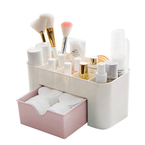 Desktop Makeup Organizer Drawers,BAFFECT(R) Cosmetics Storage Box Division Office Desk | 24HOURS.PK