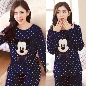 Blue Mickey Mouse Night Suit | 24HOURS.PK