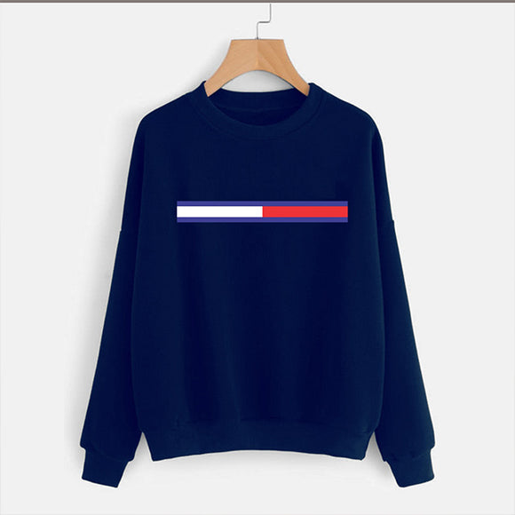 Simple Sweatshirt For Men Blue | 24HOURS.PK