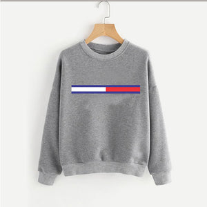 Winter Sweatshirt For Girl Grey | 24HOURS.PK