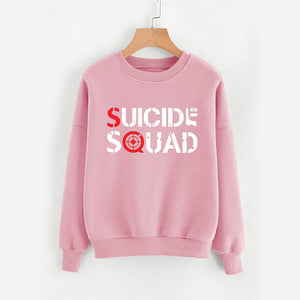 Suicide Squad Sweatshirts For Womens - Pink | 24HOURS.PK