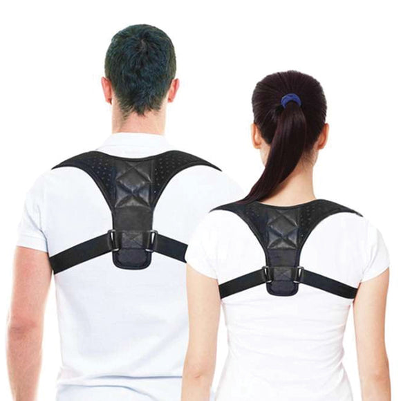 Energizing Posture Support Brace Adjustable Straight Strap For Men And Women | 24HOURS.PK