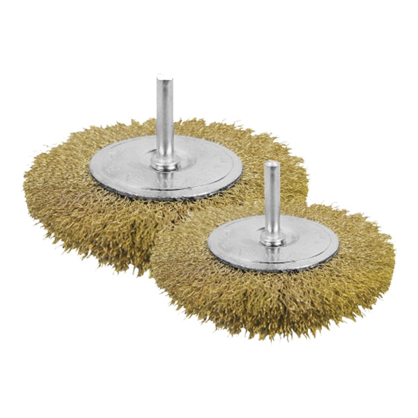 Pack of 2 Circular grinding wire brush WB40501 | 24hours.pk