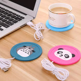 Newest USB Cute Silicone Heater Milk Tea Coffee Mug Hot Drinks Glass Heater | 24HOURS.PK