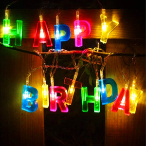 Happy Birthday Decor Light Happy Birthday LED Night Light for Party | 24hours.pk