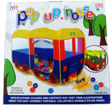 Multi Color Pop up House Tent!3-5 Years, 6-9 Years, Activity and Fun, Shop by Age | 24hours.pk