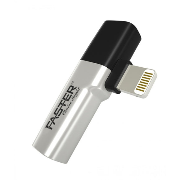 Faster Lightning Adapter Just For Iphone i7 Music Silver & Black